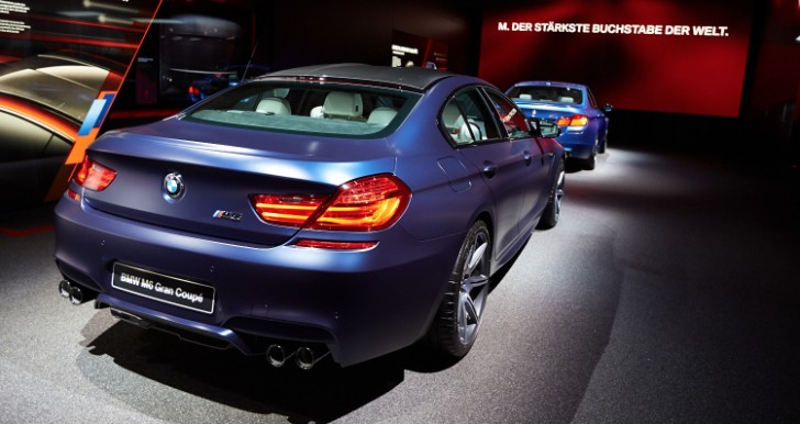 BMW M6 Gran Coupe Shows Up at 2013 IAA in Frozen Purple