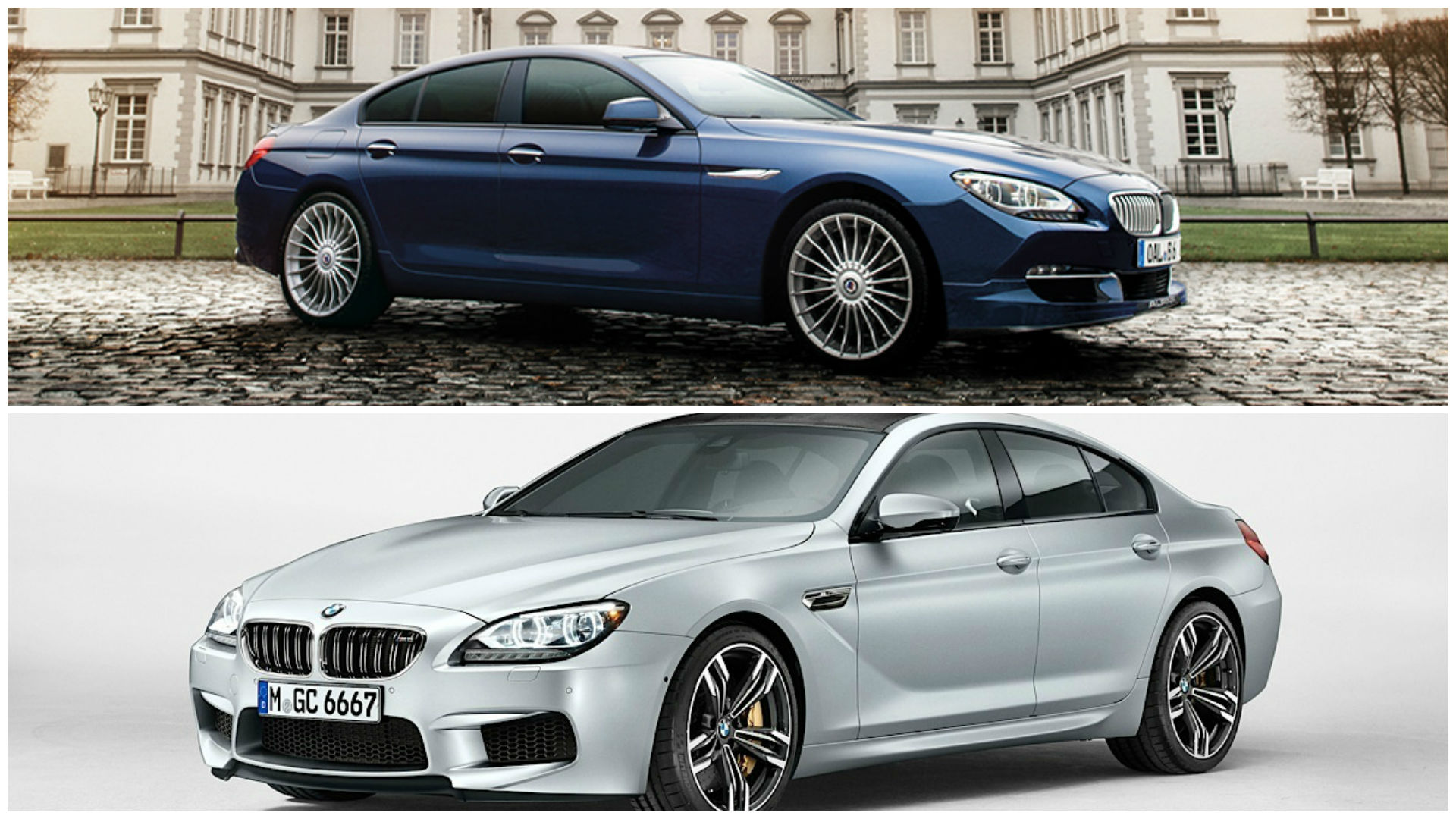 bmw m6 gran coupe vs alpina b6 gran coupe what makes them. Black Bedroom Furniture Sets. Home Design Ideas
