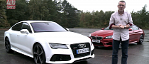 BMW M6 Gran Coupe vs Audi RS7 Comparison Test [Video]