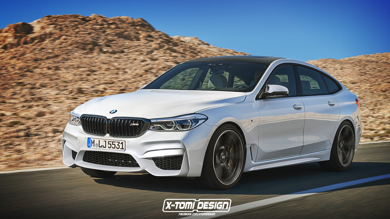 BMW M6 Gran Turismo Rendering is Like a Tesla With a Body ...