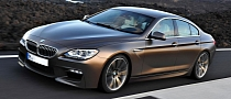 BMW M6 Gran Coupe Rendering Released