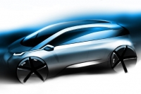 BMW Megacity Vehicle Sketch