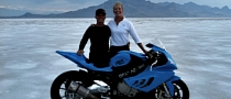 BMW Motorbike Achieves New World Speed Record - 204.784 Mph