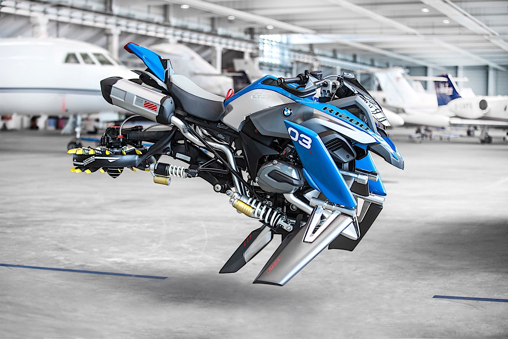 Bmw motorrad and lego made this cool hover ride concept autoevolution 13 photos voltagebd Images