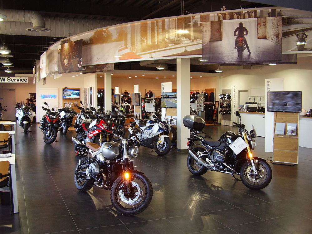bmw motorrad of denver get a new, bigger location - autoevolution