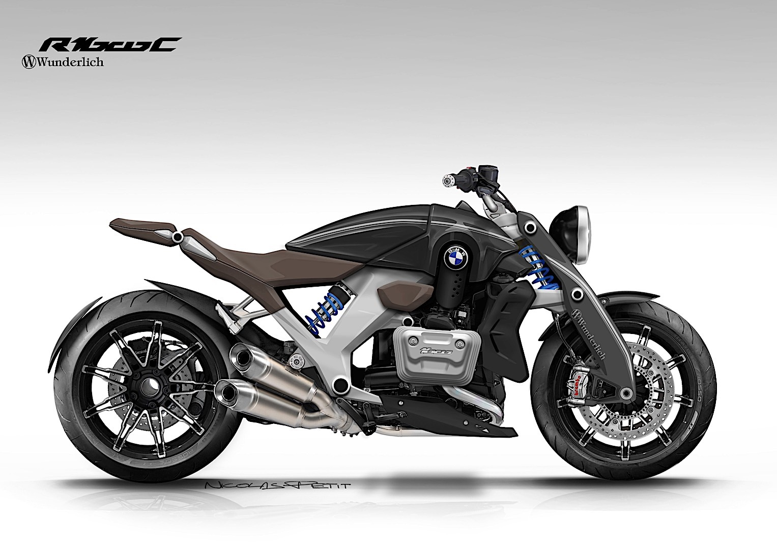 bmw motorrad should build this wunderlich r 1600 c concept autoevolution. Black Bedroom Furniture Sets. Home Design Ideas