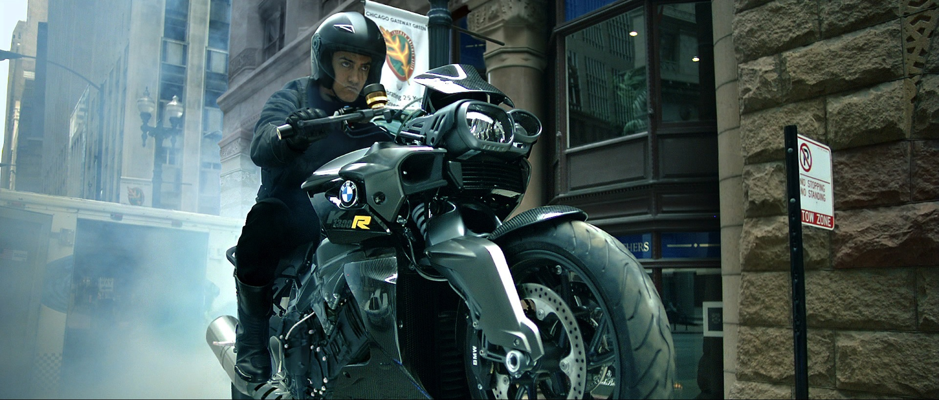 Bmw Motorrad Sponsors Action Thriller Dhoom 3 Autoevolution