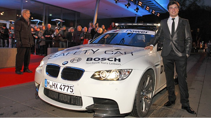 "BMW Motorsport Well Represented at the ""Ball des Sports"""