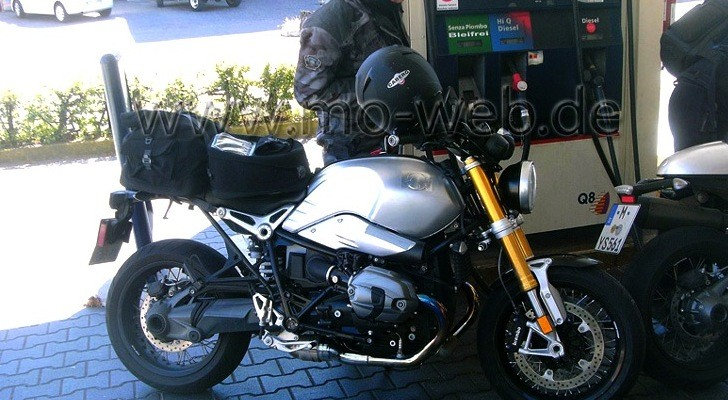 BMW NineT Air-Cooled Boxer Streetfighter Spotted in Italy