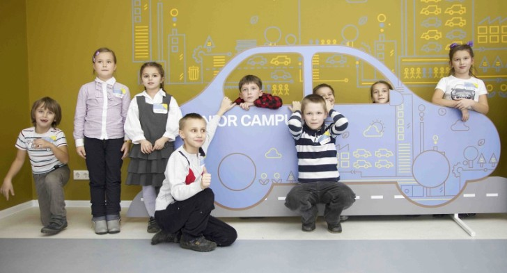 BMW Opens Fourth Junior Campus, in Moscow