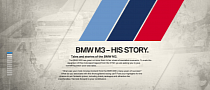BMW Pays Homage to M3's Motorsport History with New Website