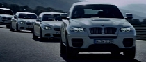 BMW Performance Diesels Together: M550d, X5 M50d and X6 M50d [Video]