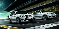 BMW Performance X5 and X6 models