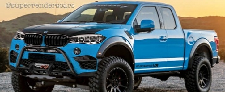 Bmw Pickup Truck Rendered With Off Road Mods Thankfully Won T Happen Autoevolution