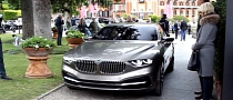 BMW Pininfarina Gran Lusso Coupe in Motion [Video]