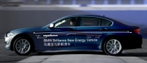 BMW Plug-in Hybrid Sedan Concept Presented in Shanghai