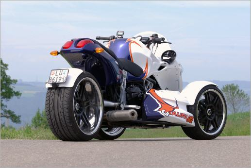 BMW-Powered GG Taurus Trike Is Can-Am Rival - autoevolution