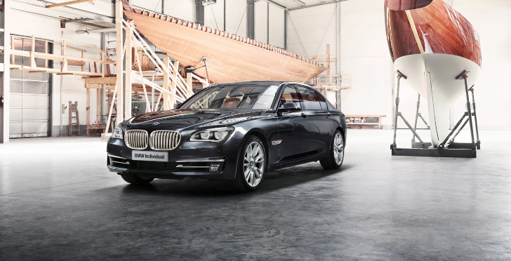 BMW Presents: Individual 760Li Sterling Inspired by Robbe & Berking [Photo Gallery]