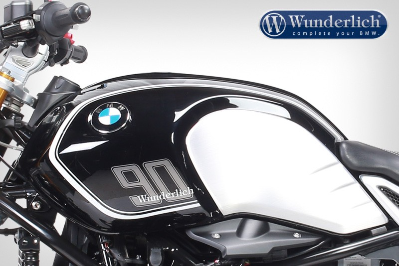 BMW R NineT Gets A Wunderlich Tank Stripe Kit Autoevolution - Decal graphics for motorcyclesmotorcycle gas tank customizable stripes graphics decal kits