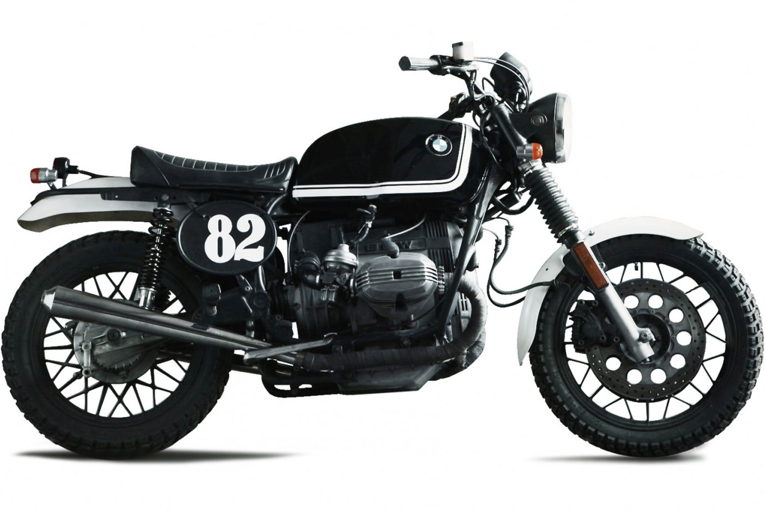 Bmw R100 Scram Custom Kit By Fuel Motorcycles Autoevolution
