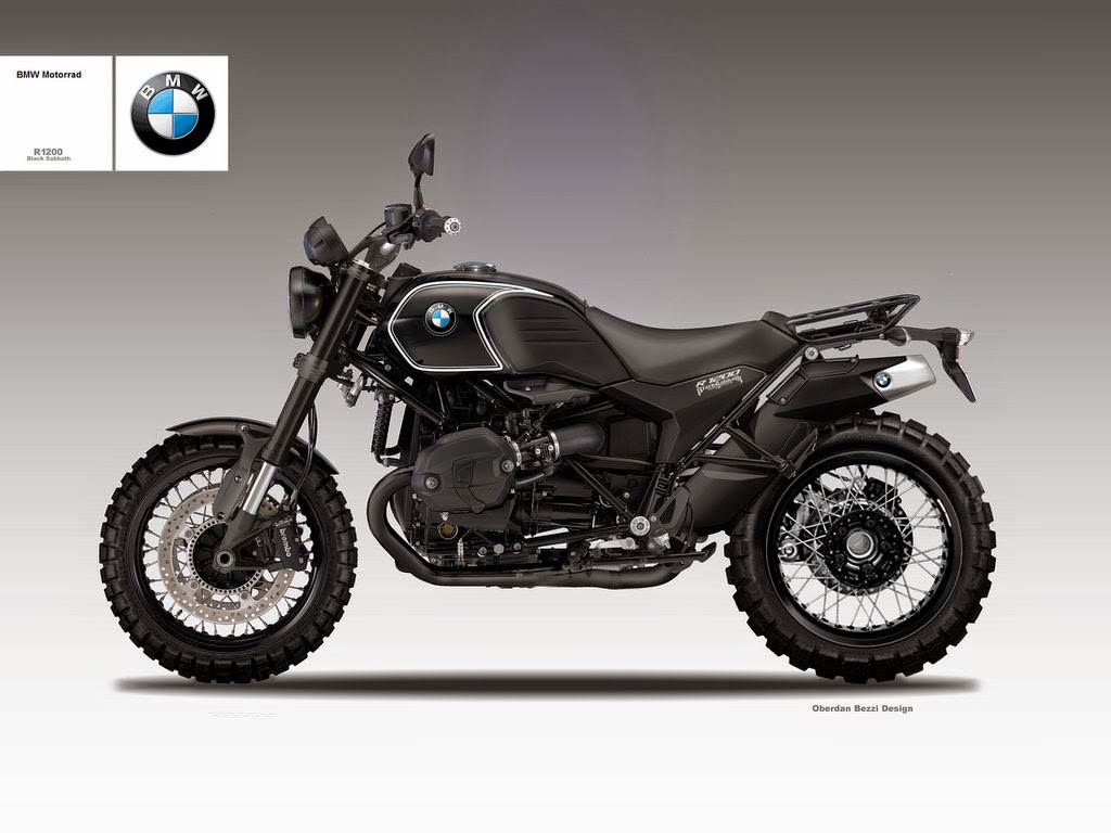 Bmw R1200 Black Sabbath Is The Scrambler We Want Autoevolution