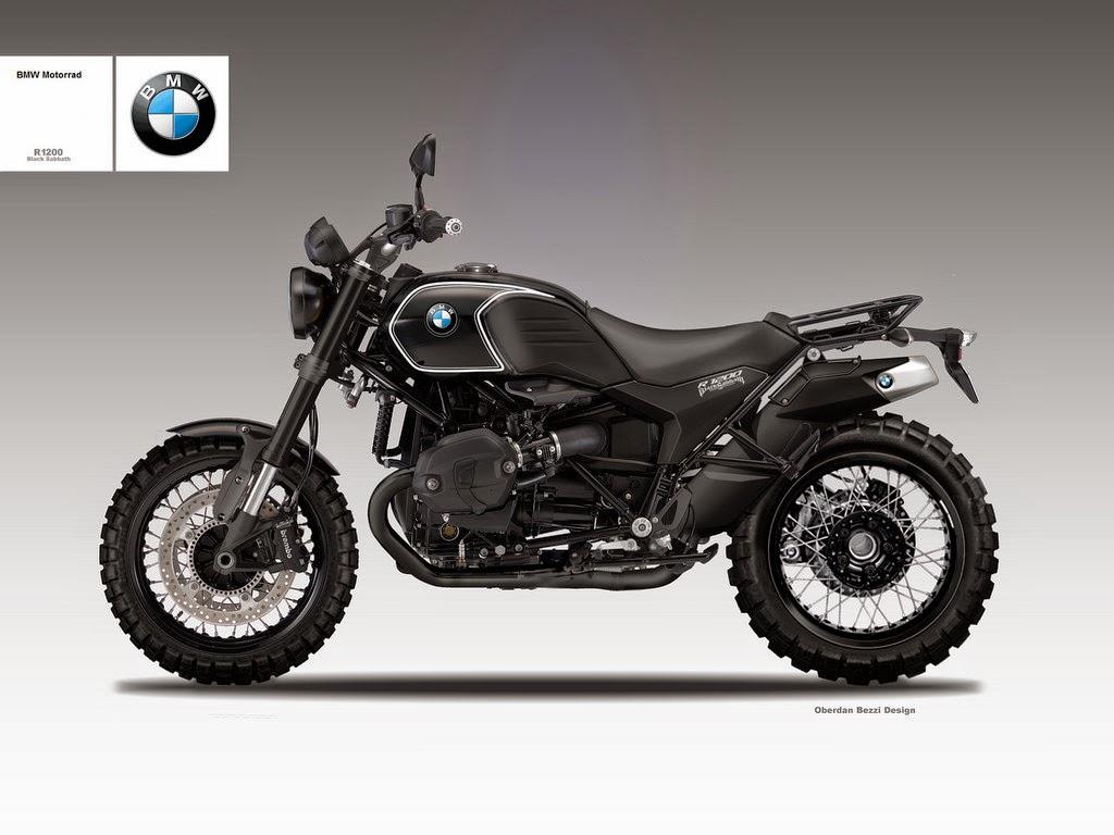 BMW R1200 Black Sabbath Is the Scrambler We Want - autoevolution