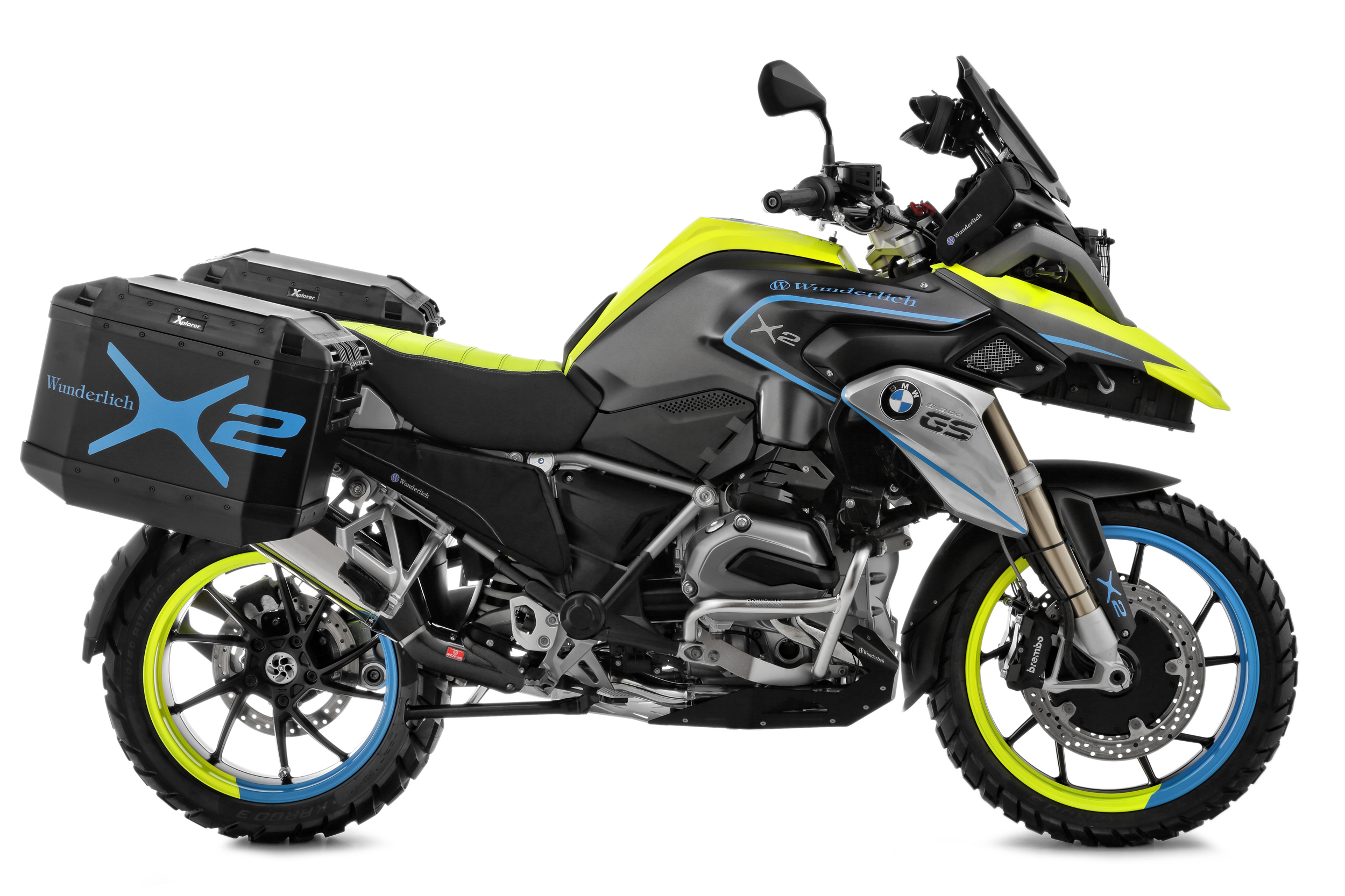 Bmw R1200gs Hybrid 2wd Concept Would Be A Idea
