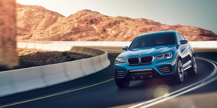 BMW Releases Mouth-Watering X4 Photos [Photo Gallery]