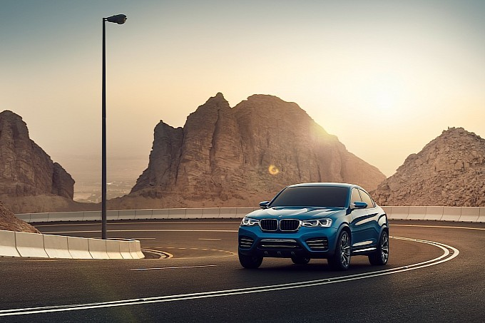 BMW Releases New X4 Concept Pictures [Photo Gallery]