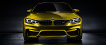 BMW Reveals M4 Coupe Concept [Photo Gallery]