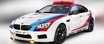 BMW Reveals M6 Gran Coupe Safety Car for MotoGP [Photo Gallery]