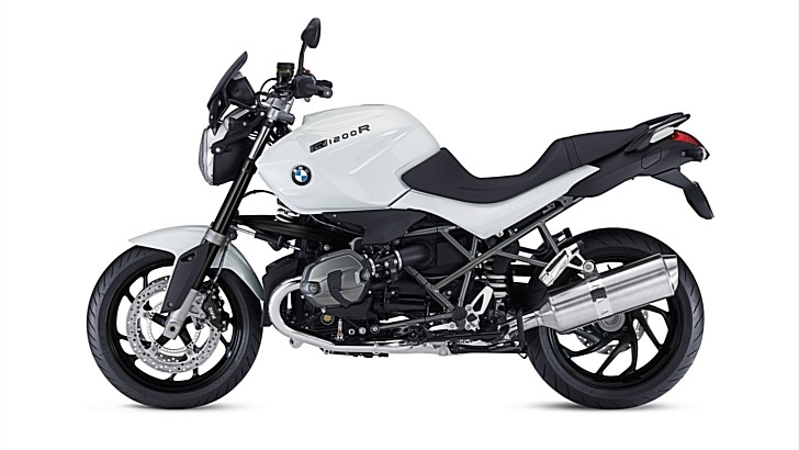 "BMW Reveals R1200R ""DarkWhite"" Special Model Roadster"
