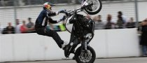 BMW Rider Wins German Stunt Riding Contest