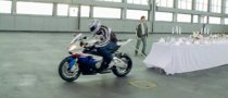 BMW S 1000 RR Dinner Film Spot Hits 1.75M+ Views on YouTube