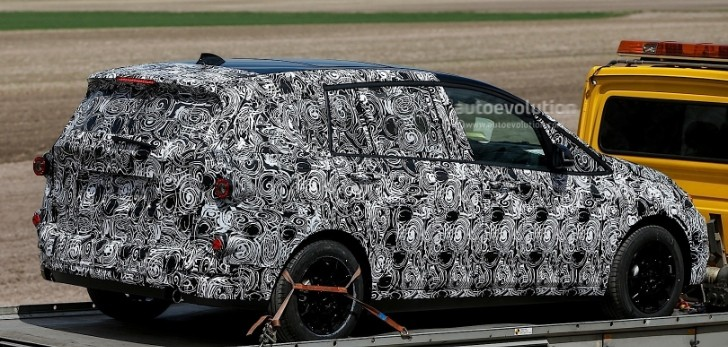 BMW's New Compact Activity Tourer (CAT) Spotted for First Time