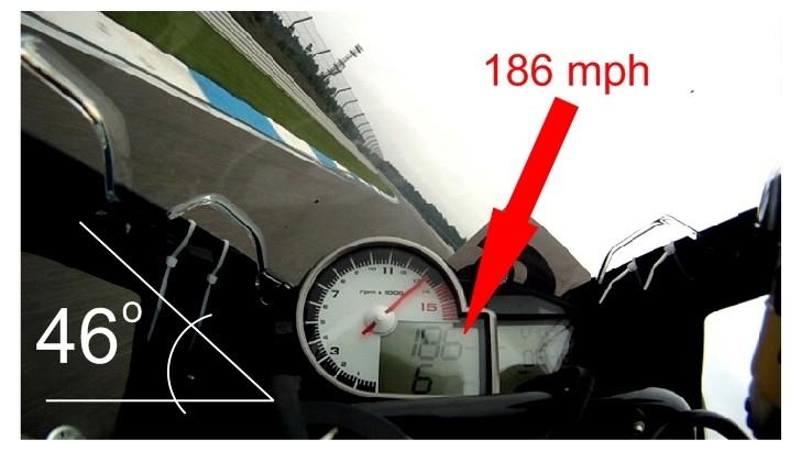 BMW S1000RR 46-Degree Lean Angle at 300 KM/H Looks Insane - autoevolution
