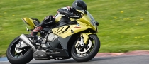 BMW S1000RR at the California Superbike School