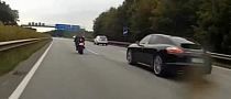 BMW S1000RR Owns Yamaha R1, Panamera Not Racing [Video]
