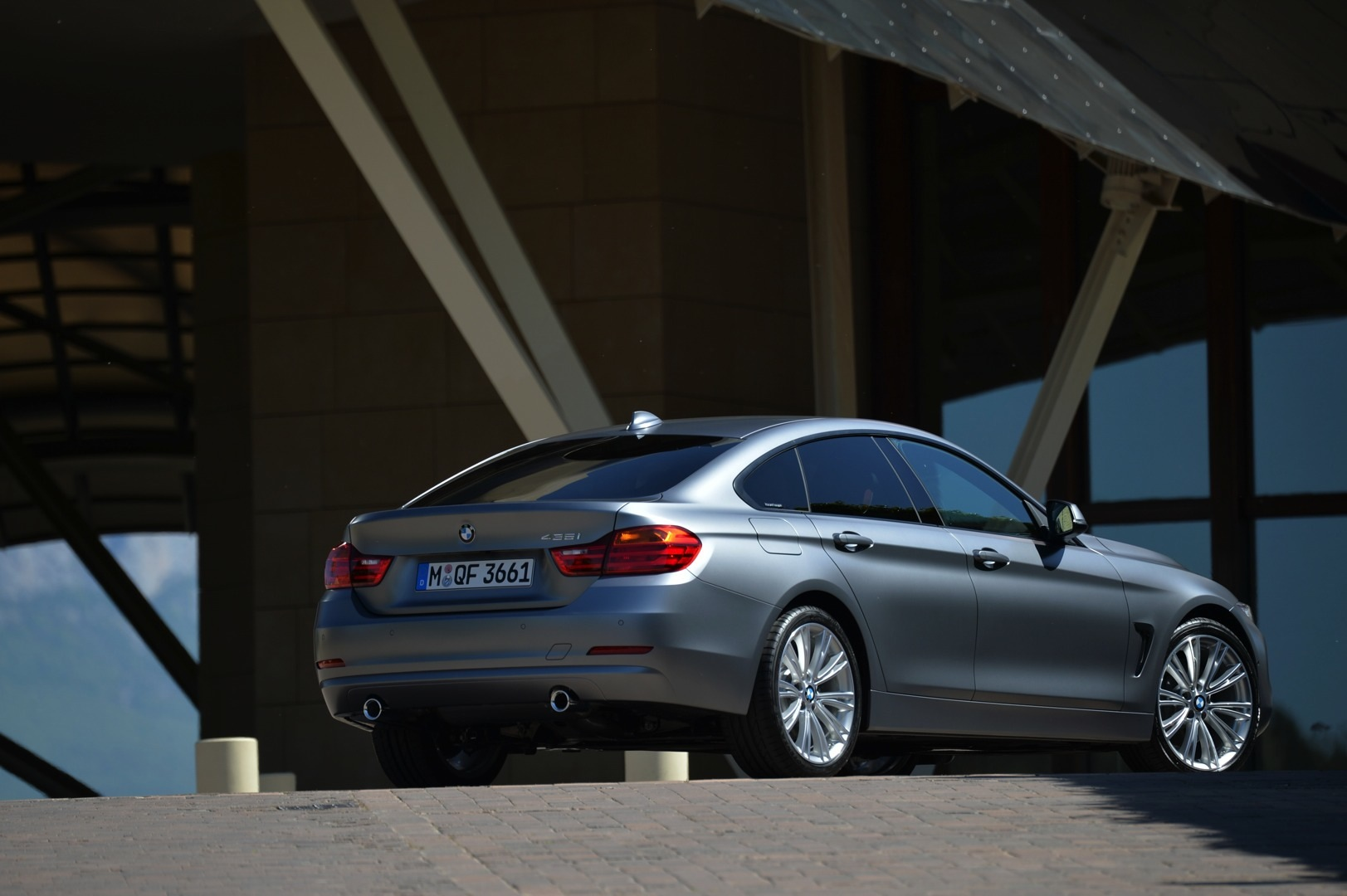 bmw shows off the individual range for 4 series gran coupe