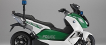 BMW Shows Police-Spec C 600 Scooter and More at Milipol 2013