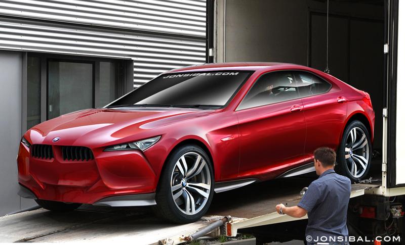 BMW Z Vision Concept Rendering