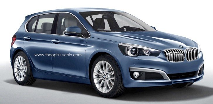 BMW Supermini Rendering