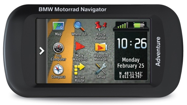 BMW Surfaces Navigator Adventure, a New Bike GPS