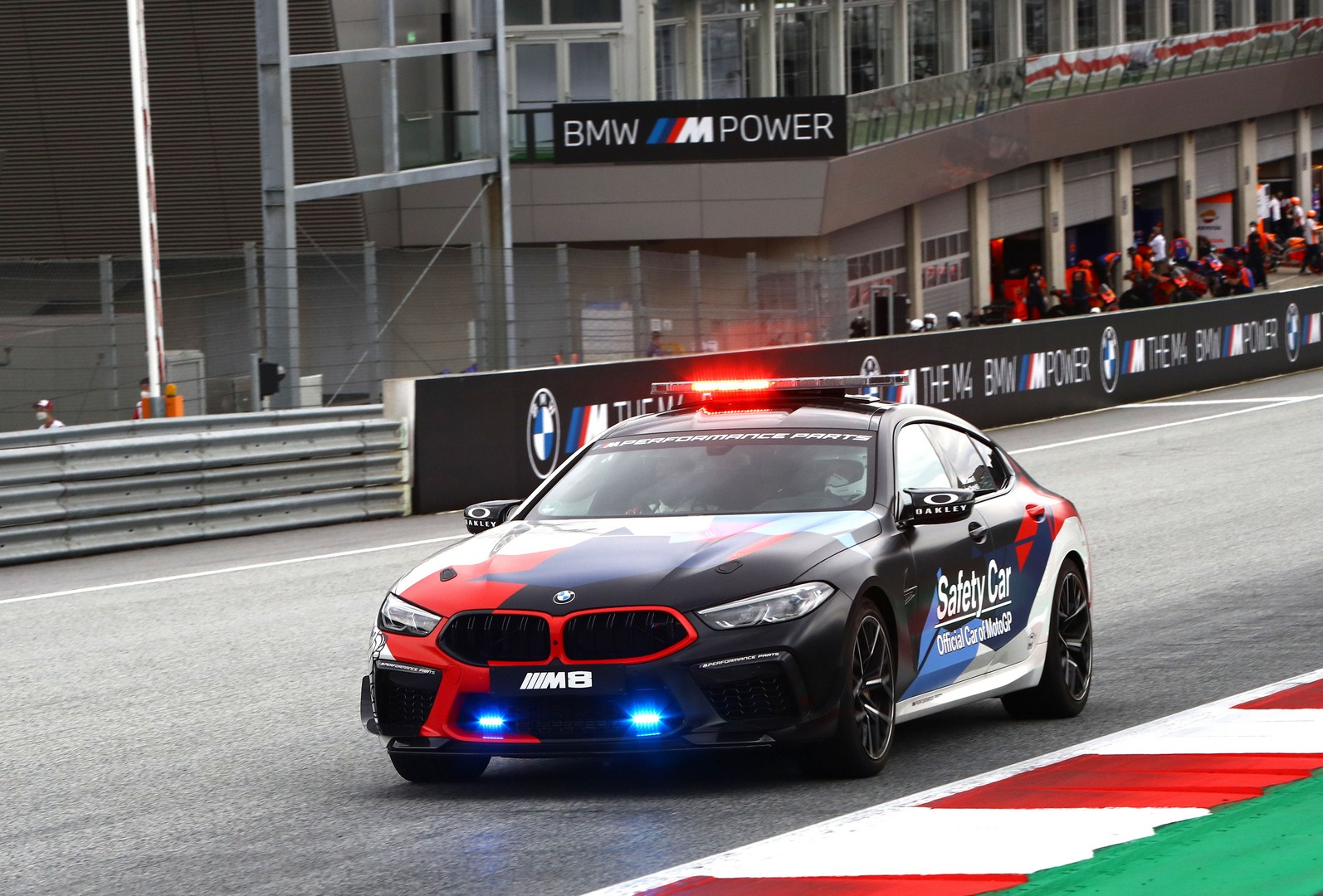 Bmw Surprisingly Turned The New M8 Gran Coupe Into A Safety Car For Motogp Autoevolution