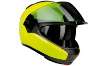 BMW System 6 bright yellow helmet photo