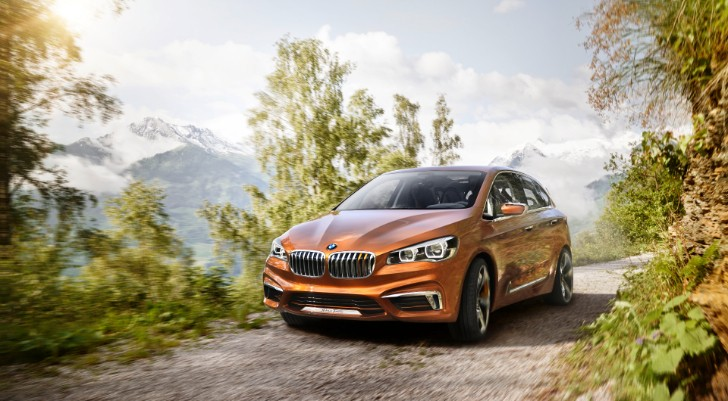 BMW Teases the 1 Series GT Some More with Active Tourer Concept Outdoor