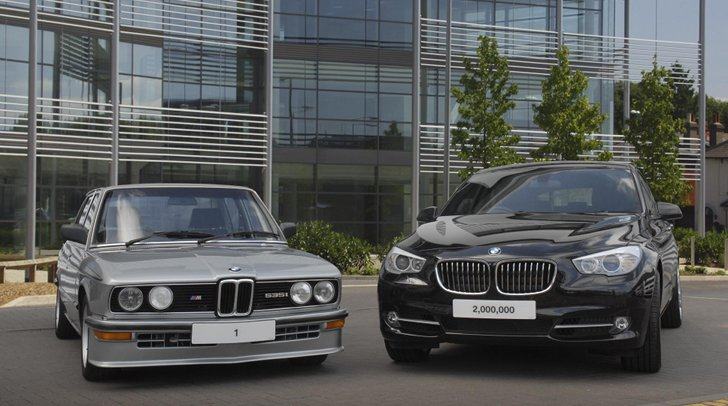 BMW UK Tops Two Million Unit Sales Landmark