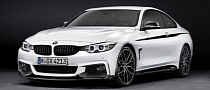 BMW Unveils 2014 4 Series with M Performance Parts