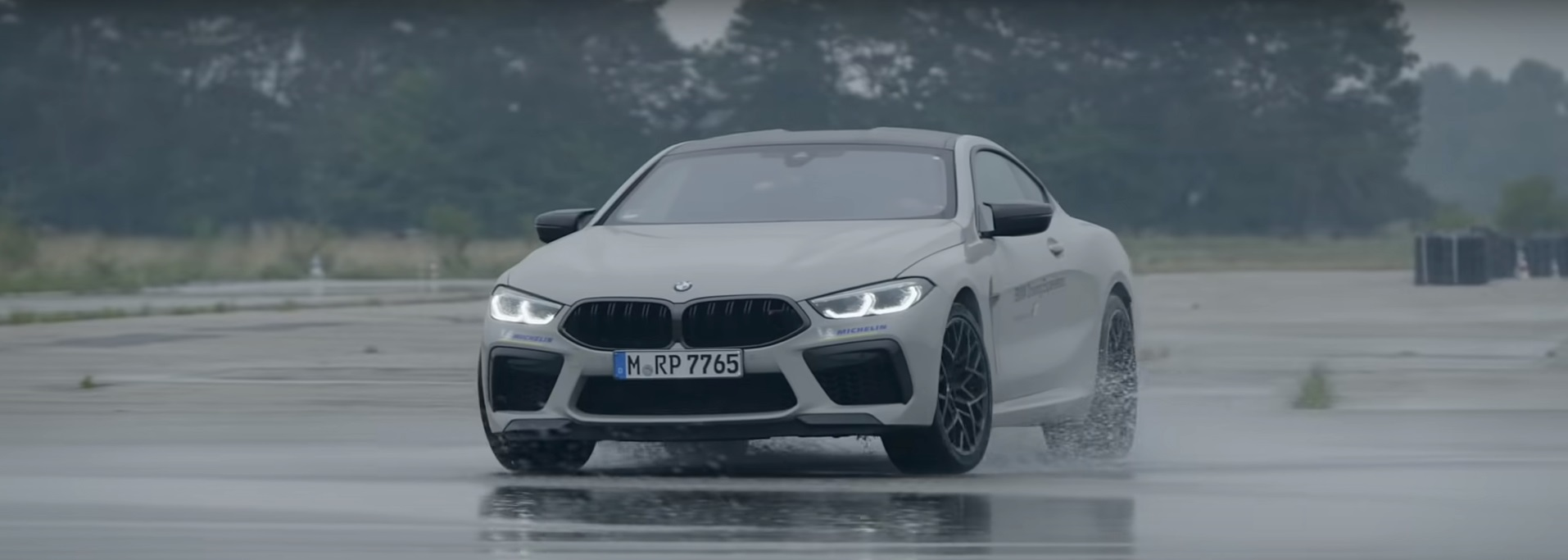 Bmw Uses The M8 Competition Coupe To Teach Both Rwd And Awd Drifting Autoevolution