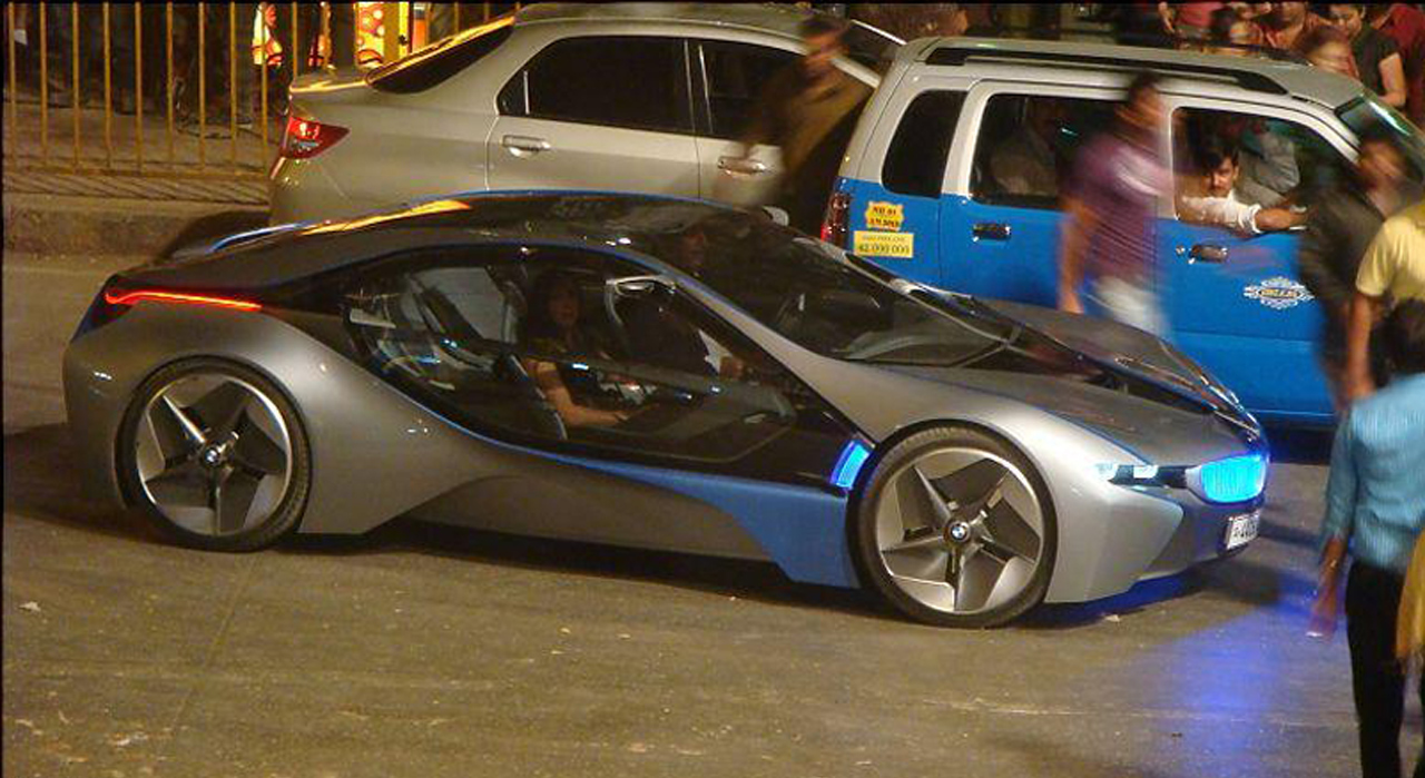 bmw ved concept spotted on mission impossible 4 set